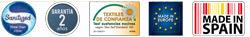 Certificados higienicos y de fabricacion de la Almohada Viscoelastica de poro abierto Memory de Ivorimatex