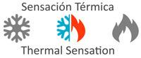 Sensación termica de la almohada Memory con nucleo de viscoelastica perfilada y funda Tencel